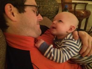 Hey Dad, I'm 6 months old!