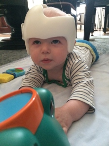 Sportin' my new helmet