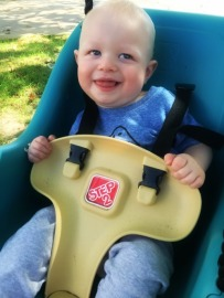 Sol loves his swing