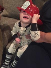 Big hat, lots of cuteness